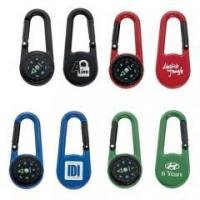 Colored Carabiner Compass Item No.: GH4103