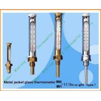 China Industrial metal jacket glass thermometer on sale