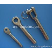China Swage fork terminal wire rope swage fork terminal on sale