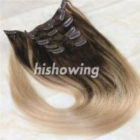 Best HAIRS (CLI-C-04) Clip In 2T Color #4&18 wholesale