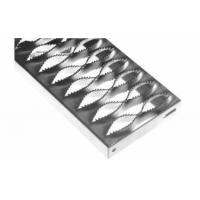 China Diamond safety grating stair treads feature anti slip on sale