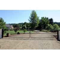 Buy cheap Full Solar Powered Automatic Motor Remote Double Swing Gate from wholesalers