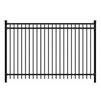 Buy cheap Residential Fencing Above Ground Aluminum Pool Metal Security Picket Fence Panels from wholesalers