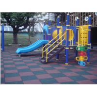 China rubber playground tile on sale
