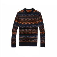 Best Fashion custom pattern design mens wool winter pullover sweater wholesale