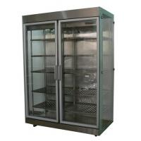 Buy cheap Chiller Double Door Tri-Side Glass Drink Cabinet from wholesalers