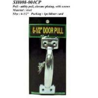 Cheap Pull - utility pull, chrome plating, w/screws for sale
