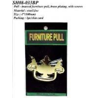 Best Pull - brassed furniture pull, brass plating, with screws wholesale