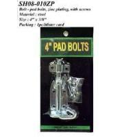 Bolt - pad bolts, zinc plating, with screws