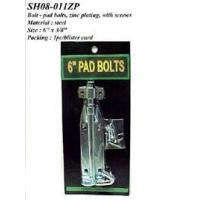 Best Bolt - pad bolts, zinc plating, with screws wholesale