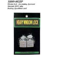 Best Window lock - zinc plating, 2pcs/card wholesale