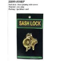 Best Sash lock- brass plating with screws wholesale