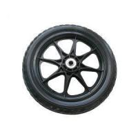 China 26 X 2.5 Big Heavy Duty Pneumatic Rubber Welded Spokes Horse Carriage Wheel on sale