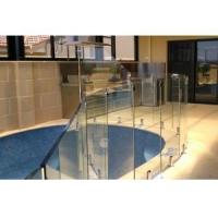 Glass railing hardware stainless steel balustrade design collection