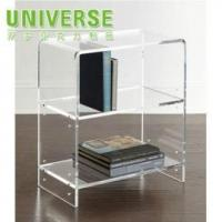 Best Acrylic Bookcase/Shelf UNIVERSE Factory Customized Acrylic Sheet Office Counter Table Design wholesale