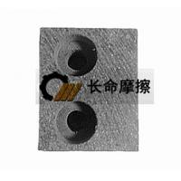 Mechanical friction block Friction material