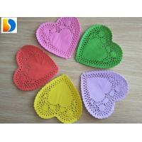 Cheap Oil-absorbing Disposable Heart Shape Paper Doilies for sale