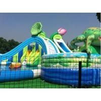 Water Seamless 2018 New inflatable water park gaint park slide for sale