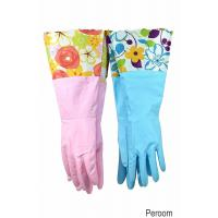 Best 31212 Household Gloves Latex free cleaning Gloves with soft fiber lining extra long cuff 15 wholesale