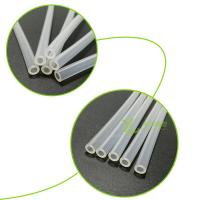 China High-transparent extruded silicone tube on sale
