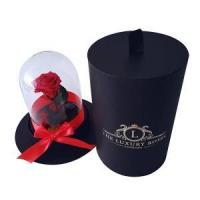 Best small cylinder rose flower display gift boxes wholesale