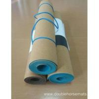 Best The cork material fitness mat wholesale