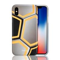 Best CTUNES IMD Football Pattern TPU Rubber Silicone Cover Anti-Scratch Protective Case For iPhone X wholesale