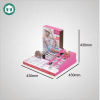 Buy cheap Cardboard Cosmetic Tabletop Display from wholesalers