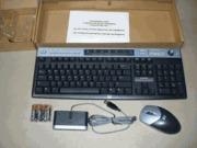 Best HP 5069-6932 / 6937 Wireless Multimedia Keyboard & Optical Mouse Combo USB wholesale