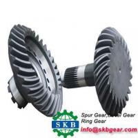 Best Iso90Forging Cnc Machined Small Worm Gear Bevel Gear With Steel Hobbing Gear wholesale