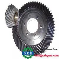 Best Precision Custom Machining Steel Nvolute Straight Bevel Gear wholesale