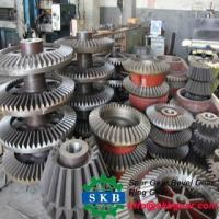 China truck transmission part crown wheel and pinion spiral bevel gear ring and pinion gear set on sale