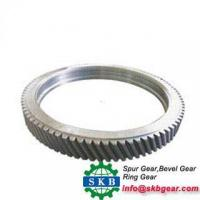 China price of large diameter double helical gear ring on sale