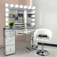 China Hollywood Makeup Mirrors High Wuality Vanity Makeup Mirror With Lights on sale