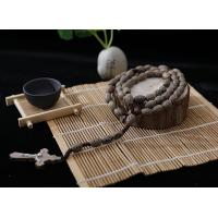 China 10-8mm wood cord rosary on sale