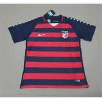 China National Team Jerseys USA Red and Black Stripe Champion Edition 17-18 on sale