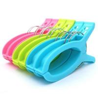China & improvement Zicome Set of 6 Super Jumbo Plastic Clips for Keeping Towels on sale
