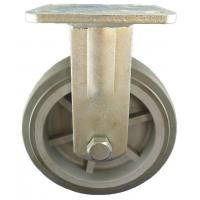Buy cheap Heavy Duty Caster 6x2 inch heavy duty rigid casters with PU wheels from wholesalers