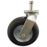 Best Heavy Duty Caster 8x2 inch industrial pneumatic swivel stem rubber caster wheel wholesale