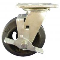 Best Heavy Duty Caster 6X2 heavy duty caster wheel with brack wholesale