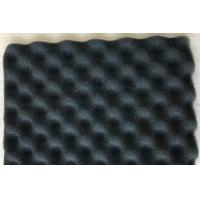 Best Sound absorbing pu sponge acoustic wave foam self adhesive sound insulation sound proof wave sponge wholesale