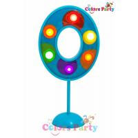 China Colors party lighting number 0 for birthday cake on sale