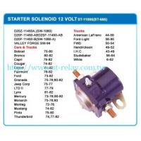 China SOLENOID STARTER SWITCH STARTER SOLENOID 12 VOLT on sale