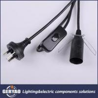 China Australian SAA approved cable plug,lamp holder,cord switch sets on sale