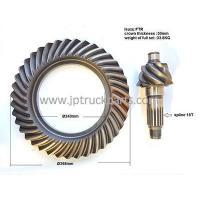 China FTR CXZ truck bevel gear crown wheel and pinion ratio 7*39 on sale