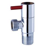 Buy cheap Bathroom Chrome Plated Brass Angle Valve from wholesalers