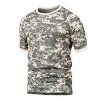 China Sublimation Camouflage Army T Shirt Manufacturers In Usa on sale