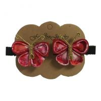 China Vivid butterfly hair accessories, hair clip, girl hair clip, little girl hair accessories on sale