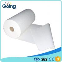 China White Color 100% Virgin Treated Wood Fluff Pulp Rolls Wowen Pads Raw Material for Making S on sale
