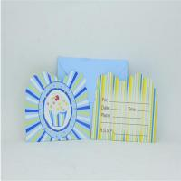 Best Party Ice cream Invitation Card wholesale